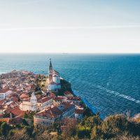 Piran - Pogled z mestnega obzidja